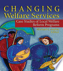 Changing Welfare Services