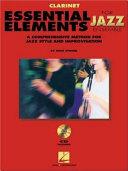 Book Essential Elements for Jazz Ensemble