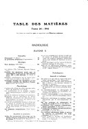 Journal de radiologie  d   lectrologie   archives d   lectricit   m  dicale