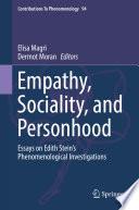 Empathy Sociality And Personhood