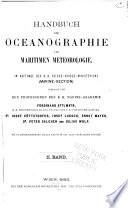 Handbuch der Oceanographie und maritimen Meteorologie /.: X abs. Die Elemente der Meteorologie v. P. Salcher