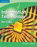 CSEC Information Technology This Full Colour Book Covers The Syllabus