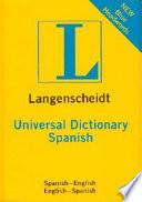 Langenscheidt Diccionario Universal Ingl  s