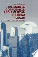 Modern Corporation and American Political Thought