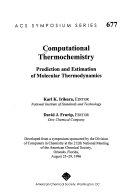 Computational Thermochemistry