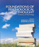 Foundations of psychological thought