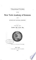 Transactions of the New York Academy of Sciences