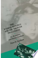 Weimar Republic And The Younger Proletariat