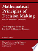 Mathematical Principles Of Decision Making Principia Mathematica Decernendi