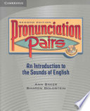 Pronunciation Pairs Student s Book with Audio CD