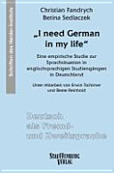 """""""I need German in my life"""""""