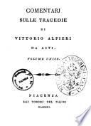 Opere di Vittorio Alfieri da Asti
