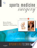 Operative Techniques: Sports Medicine Surgery- E-BOOK