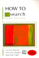 How To Research 3E