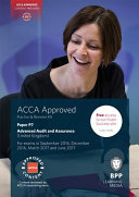 ACCA P7 Advanced Audit and Assurance (UK) Provider Content Means Our