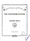 The Weapons Officer