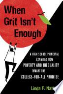 When Grit Isn t Enough
