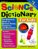 Science Dictionary For Kids book