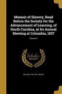 MEMOIR OF SLAVERY READ BEFORE
