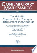 Trends in the Representation Theory of Finite Dimensional Algebras