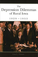 The Depression Dilemmas of Rural Iowa  1929 1933 New York S Wall Street In