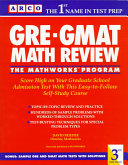 GRE GMAT Math Review