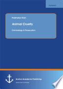 Animal Cruelty  Criminology   Prosecution