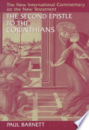 The Second Epistle to the Corinthians (The new international commentary on the New Testament)