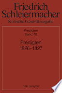 Predigten 1826-1827