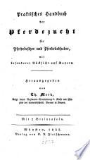 Praktisches Handbuch der Pferdezucht