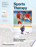 Handbook of Sports Medicine and Science  Sports Therapy