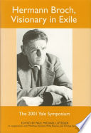 Hermann Broch, Visionary in Exile