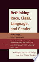 Rethinking Race  Class  Language  and Gender