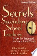 Secrets for Secondary School Teachers