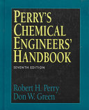 Perry s Chemical Engineers  Handbook