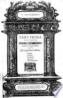 Biblia sacra  Graece  Latine   Germanice opera Davidis Wolderi  In usum ecclesiarum germanicarum praesertim earum quae sunt in ditionibus illustrissimorum Ducum Holsatiae