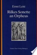 Rilkes Sonette an Orpheus