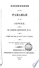 Discourses on the Parable of the Sower