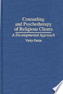 Counseling And Psychotherapy Of Religious Clients