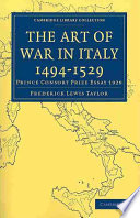 The Art of War in Italy 1494 1529