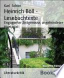 Heinrich Böll - Lesebuchtexte