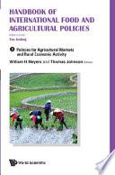 Handbook Of International Food And Agricultural Policies