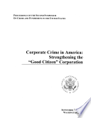 Corporate Crime In America