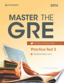 Master the GRE  Practice Test 2