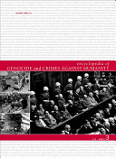 Encyclopedia of Genocide and Crimes Against Humanity  A H 2  L S 3  T Z  index