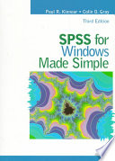 SPSS for Windows Made Simple