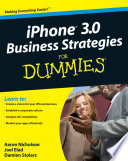 iPhone 3 0 Business Strategies For Dummies