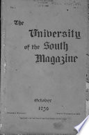 The University of the South Magazine Book PDF