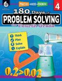 180 Days of Problem Solving for Fourth Grade  Grade 4