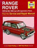Range Rover Service and Repair Manual